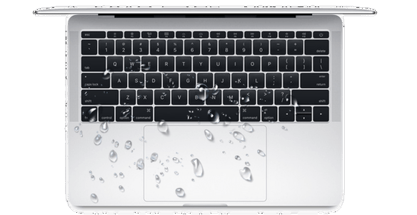 macbook waterschade